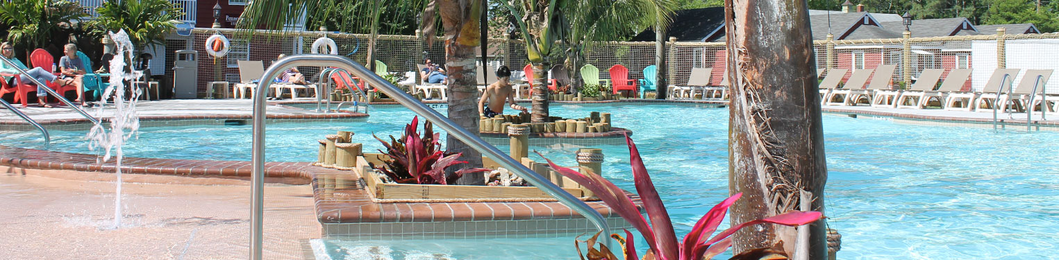 Pools and Attractions